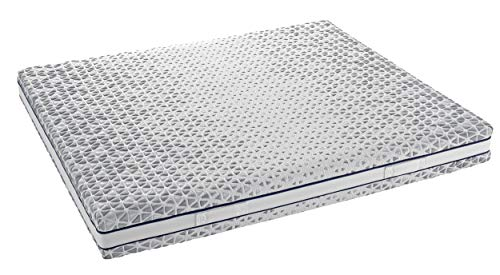 InHouse Srls Colchón Memory Flex Infinity - Colchón individual 90 x 200 x 21 cm - Ergonómico - Desenfundable - Certificado con dispositivo médico