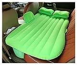 Top Coche Trasero Asiento Trasero Coche Colchón De Aire Cama De Viaje Cama Inflable Colchón De Aire Bed De Aire Cama Inflable (Color : Green)