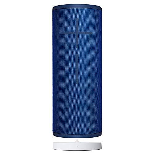 Ultimate Ears Megaboom 3 Portable Wireless Speaker with Power Up Wireless Charging Dock, Lagoon Blue (Renewed)