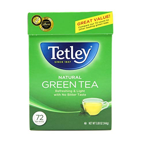 Tetley Green Tea, 72 Tea Bags