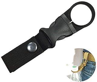 WINOMO Utomhus flaskhållare bälte vattenflaskhållare klämma med bältesspänne för camping vandring