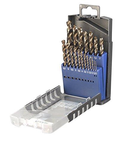 Preisvergleich Produktbild kwb Metallbohrer-Satz,  HSS-E Bohrer-Set,  19-teilig
