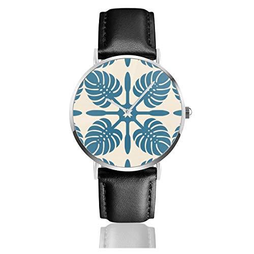 Reloj Pulsera Moderno Hawaiano Almohada Correa Cuero
