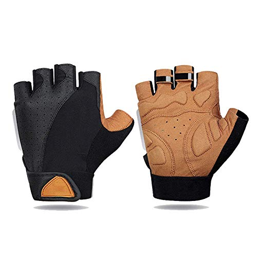 KAUTO Gloves Bike Cycling Gloves for Men Bicycle Gloves Non-Slip Breathable Men and Women Gloves Shockproof Outdoor Sports Mountain Bike Bicycle Motorcycle Gloves M