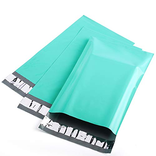 Metronic 6x9 Poly Mailers Teal Shipping Bags 200PC Envelopes Mailers with Self Adhesive Teal Poly Bags Waterproof and Tear-Proof Postal Bags