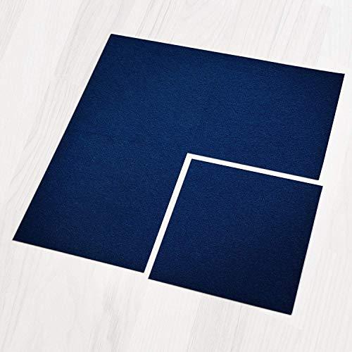 Teppichfliesen Can Can   selbstliegend   Rücken: Bitumen, rutschhemmend   Bodenbelag für Büro und Gewerbe   50x50 cm   5 Farben (Lagune)