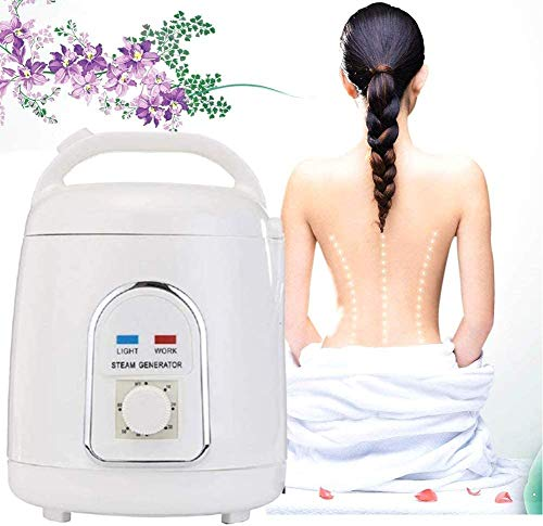 USJIAJU Fumigation Machine, Portable Sauna Steamer Portable Pot 1.5 Liters Suit Home SPA Shower for Body Detox Weight Loss Best Gifts for Loved Ones