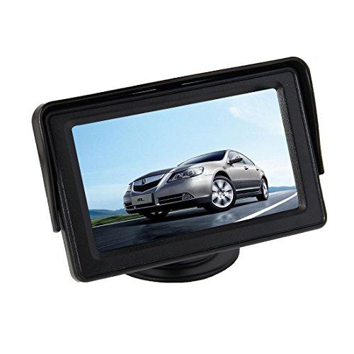 Pathson 4.3 Pouces TFT LCD Moniteur pour Caméra de Recul Vue Arrière