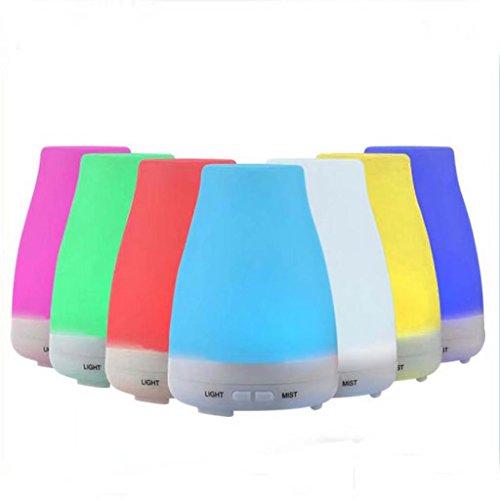 KK-Aroma humidifier 7 lumières LED Couleur, Chambre bébé, Chambre, Bureau, Humidificateur, Mute Chambre Petit humidificateur d'huile Essentielle à l'air ultrasonique