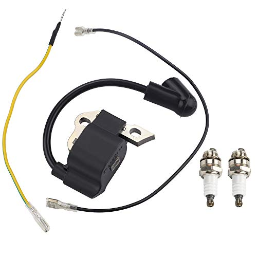 Kuupo 1130 400 1302 Module MS170 Ignition Coil with Spark Plugs for Sthil 017 018 MS 170 MS180 Chainsaw Parts