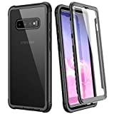 WE LOVE CASE Samsung Galaxy S10 Case, Built-in Screen