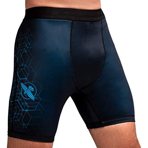 Hayabusa Geo Vale Tudo Shorts Men - Blue, Small