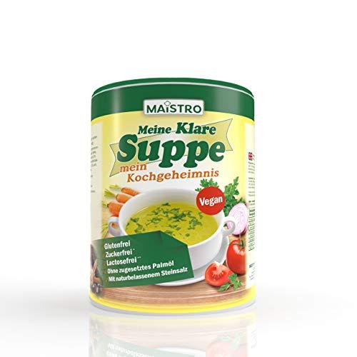 Veganistische groentebouillon en specerijen. Zonder allergietriggers, zonder palmvet, gemakkelijk, snel en delicaat…