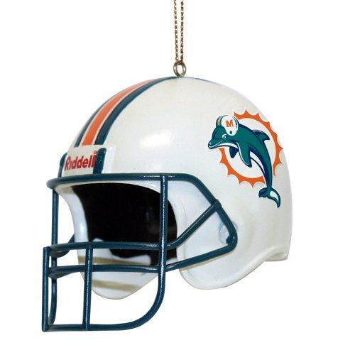 NFL Miami Dolphins 3 Inch Helmet Ornament