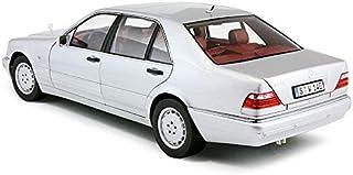 1/18 مرسيدس بنز S320 سيلفر ديكاست موديل كار