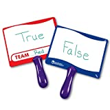 Double-sided write and wipe boards used across curriculum for classroom games quick response class voting and assessment Get kids actively involved while strengthening memory and recall skills