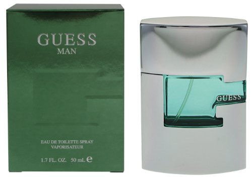 Guess Man Eau de Toilette 50 ml, per stuk verpakt (1 x 50 ml)
