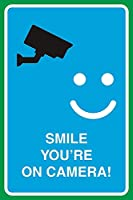 Smile You're On Camera ティンサイン ポスター ン サイン プレート ブリキ看板 ホーム バーために
