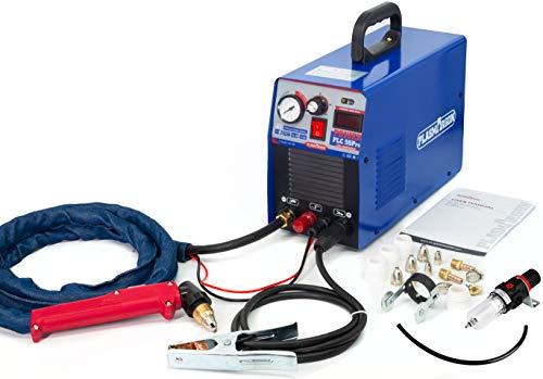 PLC55pro, IGBT Pilot Plasmaschneider mit Pilotzündung ,50 Ampere, Bis 14mm Schneidleistung,220V ±15% Plasma Schweißgerät, Plasma Cutter, Metallschneider