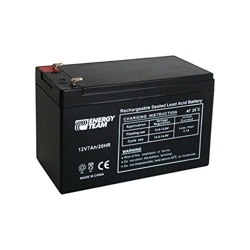 Batteria ermetica al piombo 12V 7Ah EnergyTeam