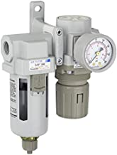 PneumaticPlus SAU320-N03G Compressed Air Filter Regulator Combo 3/8