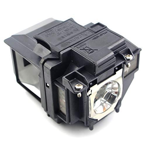 SNLAMP ELPLP96 / V13H010L96 Lámpara de proyector Repuesto Bombilla con Carcasa para EPSON EB-S05 EB-S39 EB-S41 EB-U05 EB-U42...