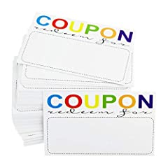 PERFECT for Small Business, including Beauty Makeup Hair Nail Salon, Barber shop, Restaurants, Pet shop, Therapist, as Gift Coupon Voucher Cards. PERFECT for Gift Certificates with Love: It can be used as Gift card for Wedding, Anniversary, Birthday,...