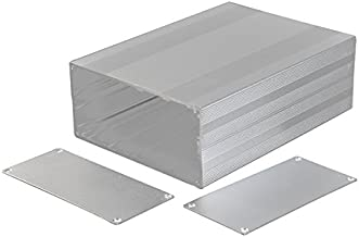 Eightwood Big Aluminum Project Box Electronic Enclosure Case DIY - 7.87