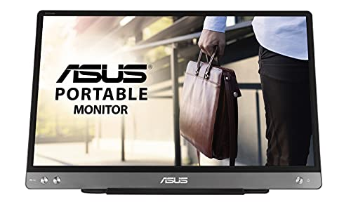 ASUS ZenScreen MB14AC 35,56 cm (14 Zoll) tragbarer Monitor (Full HD, entspiegelte Oberfläche, IPS, USB Typ-C, Blaulichtfilter)