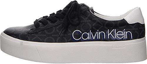 Calvin Klein Janika bajo Top Lace hasta B4E6289 Negro Calzado Deportivo Casual