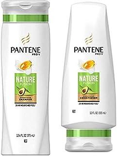 Pantene Pro-V Nature Fusion Shampoo and Conditioner Set, 12.6 Fl Oz and 12 Fl Oz (Set Contains 2 items)