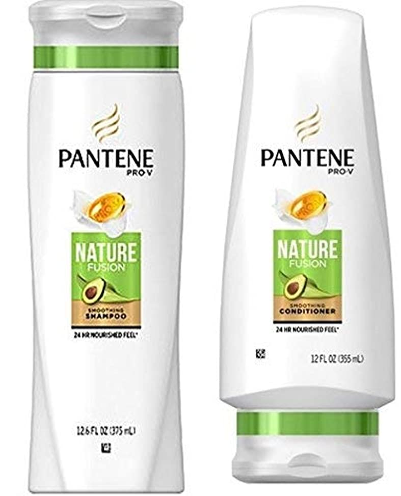 Pantene Pro-V Nature Fusion Shampoo and Conditioner Set, 12.6 Fl Oz and 12 Fl Oz (Set Contains 2 items)