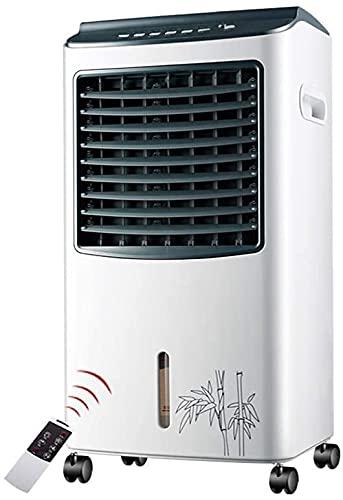 XPfj Ventilador frío ventilador de aire acondicionado móvil único enfriador rápido humidificador para dormitorio en casa oficina (color: Gray002)