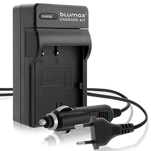 Blumax BP-511 / BP-511A Ladegerät | passend zu Canon EOS 5D/ 10D/ 20D/ 300D/ 30D/ 40D/ 50D UVM