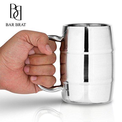 Bar Brat Insulated Coffee Mug & Beer Mug...