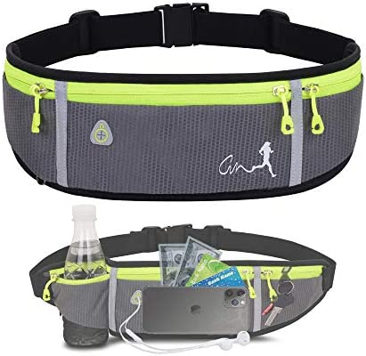 Running Belt Water Resistant Runners Belt Fanny Pack for Women Men Waist Bag for Hiking Fitness product image