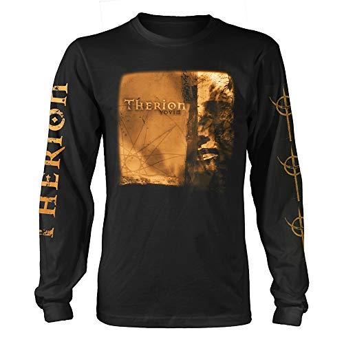 Therion Vovin A Longsleeve offiziell Männer T-Shirt Herren (XX-Large)