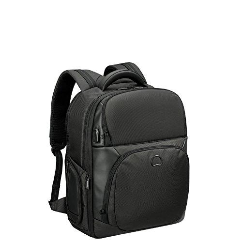 DELSEY PARIS Quarterback Premium Sac à dos loisir, 51 cm, 43 L, Noir