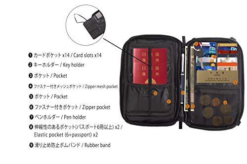 gRabbit 3人分の母子手帳ケース パスポートケース RFID スキミング防止 大容量?