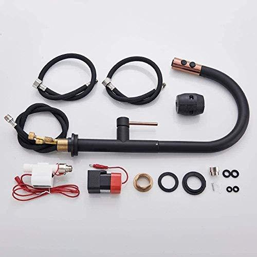 Grifos de cocina táctiles Grúa para sensor Grifo de agua de cocina Mezclador Extraíble Grifo de control táctil inteligente sensible a la cocina