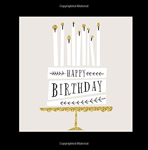 Happy Birthday: Guest Book Color-Filled Inside Fluer de Lis End Pages Gifts for Men 26th 27th 28th 29th 31st 32nd 33rd 34th 3th 37th 38th 39th 41st ... All Departments Cake Topper Napkins Balloons