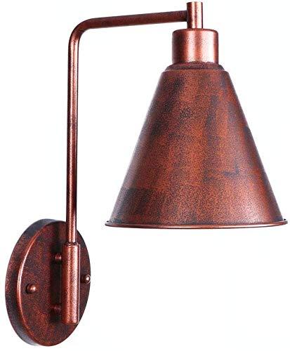 Creatieve Retro Wandlampen Moderne Pop Postmodern Slaapkamer Slaapkamer Wandlamp Retro E27 Edison Enkele Hoofd Decoratie Verlichting Fixture (Kleur : Wit)