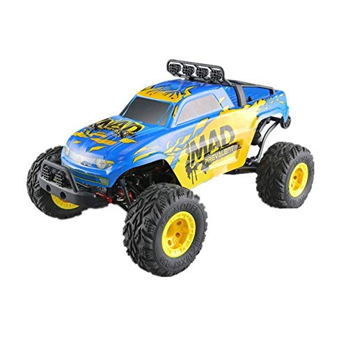 ADLIN 2,4 GHz Super-kollisionssicherere Fernbedienung Auto-Akku, High-Speed-Buggy Monster Truck Crawler, Einzelradaufhängung, Geschenk for Kinder EIN