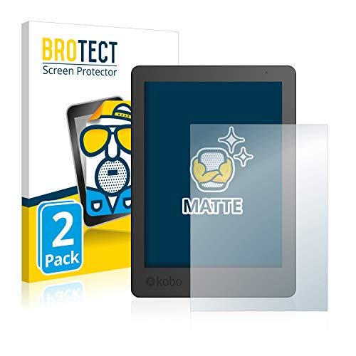 BROTECT 2x Antireflecterende Beschermfolie compatibel met Kobo Aura Edition 2 Anti-Glare Screen Protector, Mat…