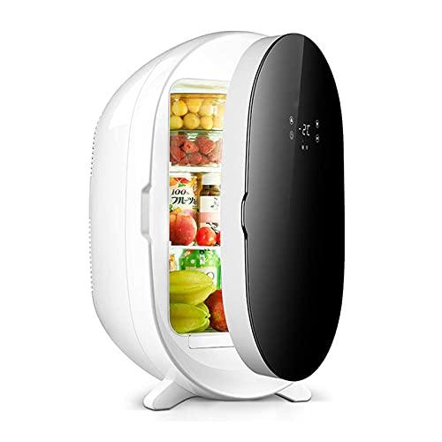 HELOU 20L Mini Nevera De Coche Refrigerador De Pantalla Digital Refrigerador Refrigerador De Belleza Refrigerador Calentador Multifuncional para Alimentos Lácteos Bebidas En La Conducción