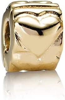 Pandora Heart Gold Clip 750243