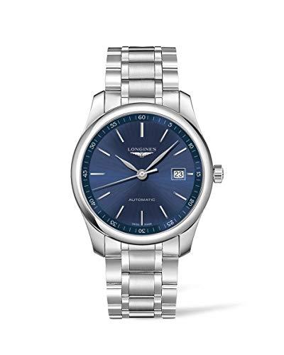 Longines orologio The Longines Master Collection 40mm blu automatico...