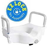 Vaunn Medical Elevated Raised Toilet Seat and Commode...