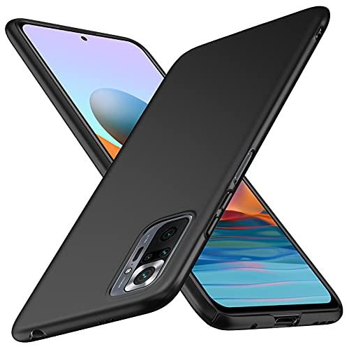 TopACE Funda para Teléfono Xiaomi Note 10 Carcasa Dura Mate Ultrafina Funda Protectora a Prueba de Caídas Simple y Ligera Adecuado para Xiaomi Note 10 (Negro)