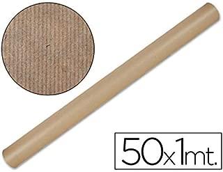 Maildor - Rollo de papel kraft (50 m x 1 m, 64 g), color marrón claro